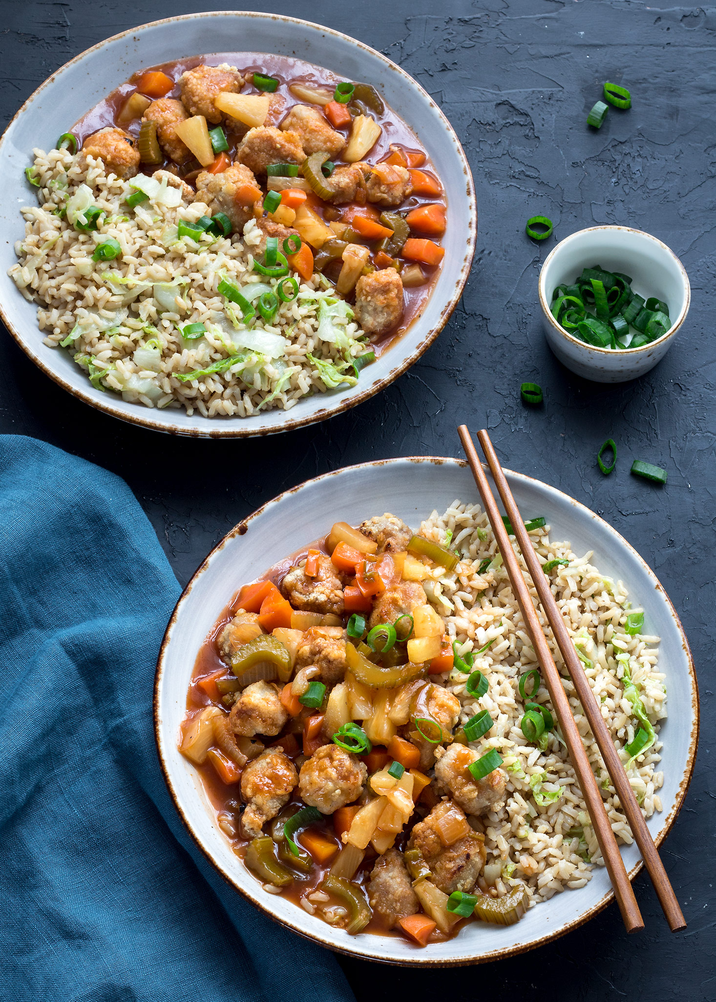 Sweet and sour pork is our usual pick when we go for a Chinese takeaway. 