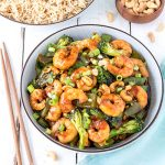 Prawn cashew nut stir fry is a version of the ever-popular chicken cashew nut stir fry. It's quick and easy to prepare, making it perfect for a busy weeknight.