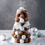 This chocolate truffle tree makes a pretty spectacular sight on the dessert table. Once you've made the truffles the tree is actually pretty easy to assemble.