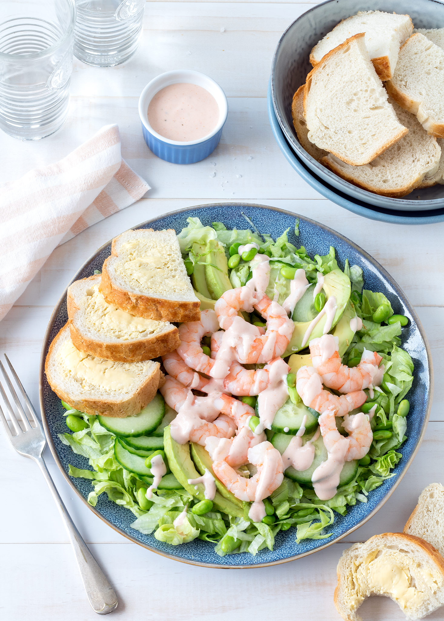 Prawn cocktail salads are a fresh, light and summery meal. Perfect for the warmer months as there's no need to turn the oven on. Ready in just 15 minutes too!
