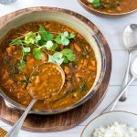 This creamy lentil curry doesn't look the prettiest, but don't let that put you off! It's full of flavour, really easy, economical, nourishing and makes great leftovers. Give it a try!