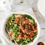 Crispy chicken salad with noodles and a delicious Asian-inspired dressing.